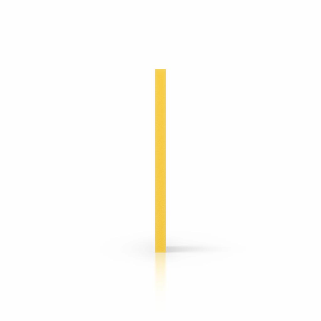 Cote PVC mousse jaune