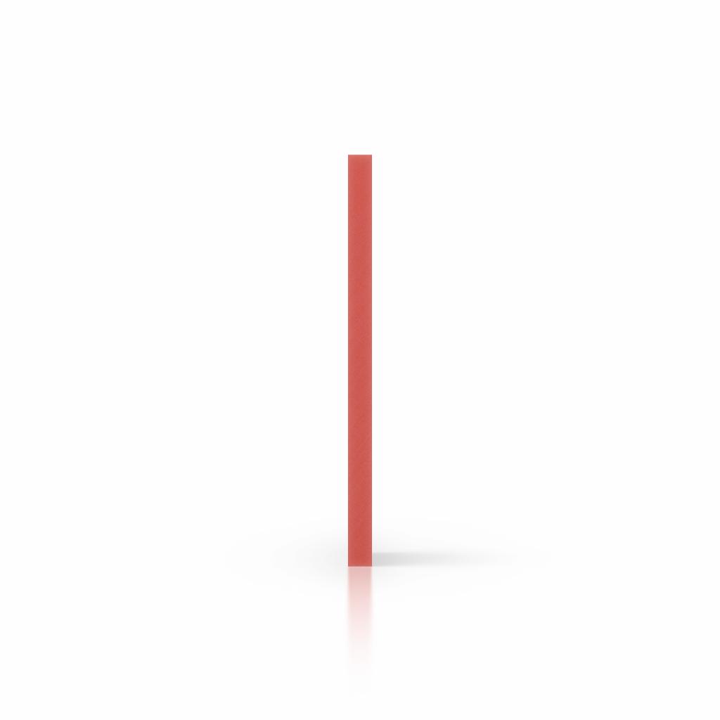 Cote PVC mousse rouge
