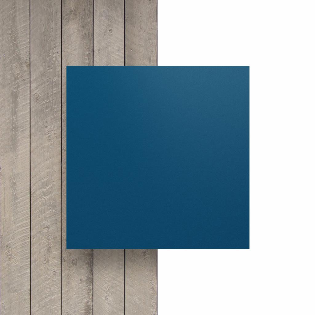 Devant plaque HPL bleu gentiane