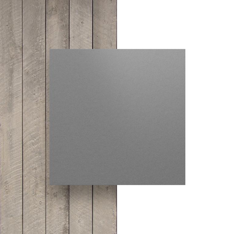 Devant plaque HPL gris clair