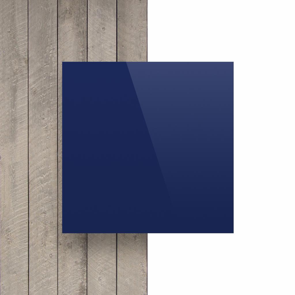 Devant plaque alupanel bleu