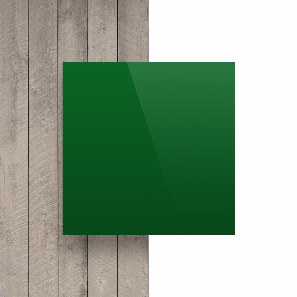 Devant plaque alupanel vert