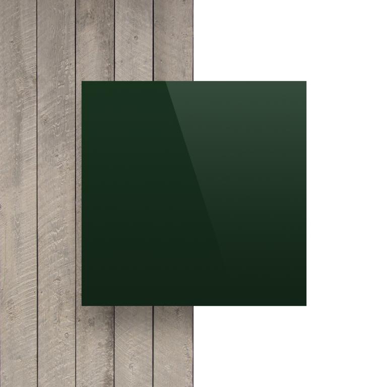 Devant plaque alupanel vert fonce