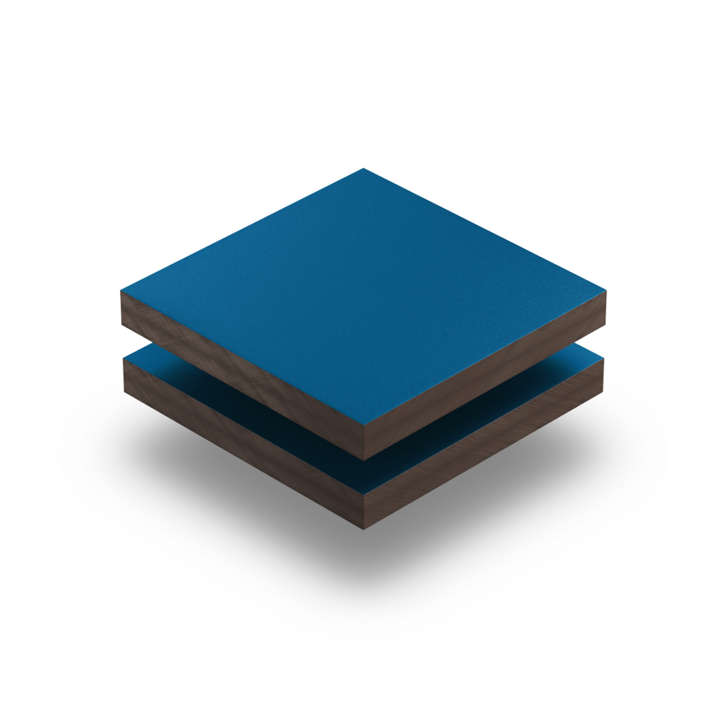 Plaque HPL bleu gentiane
