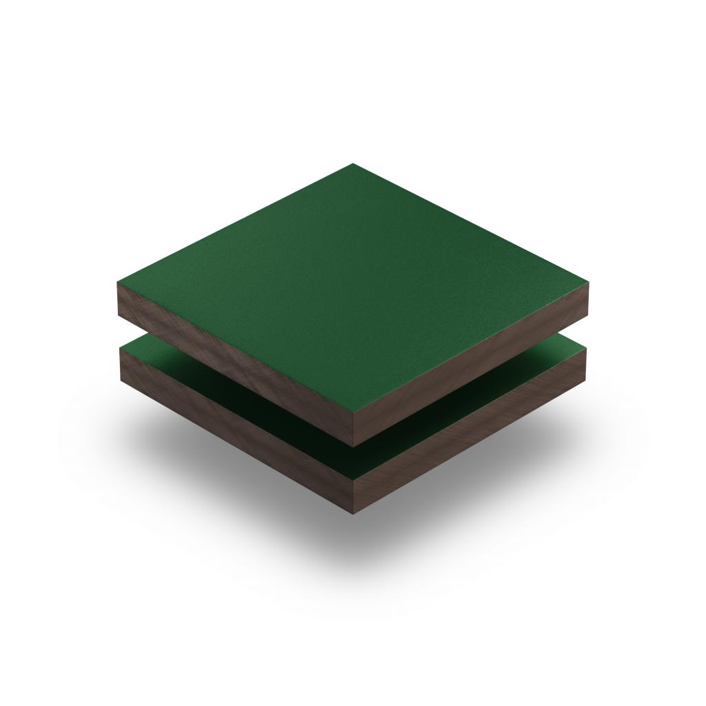 Plaque HPL vert mousse