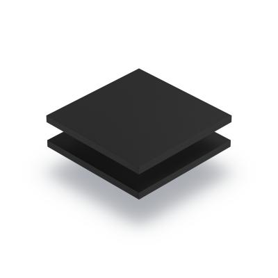 Plaque PVC mousse noir