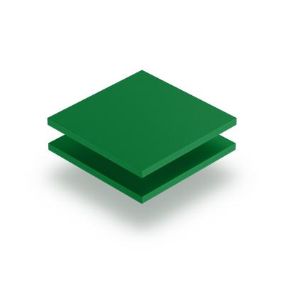 Plaque PVC mousse vert