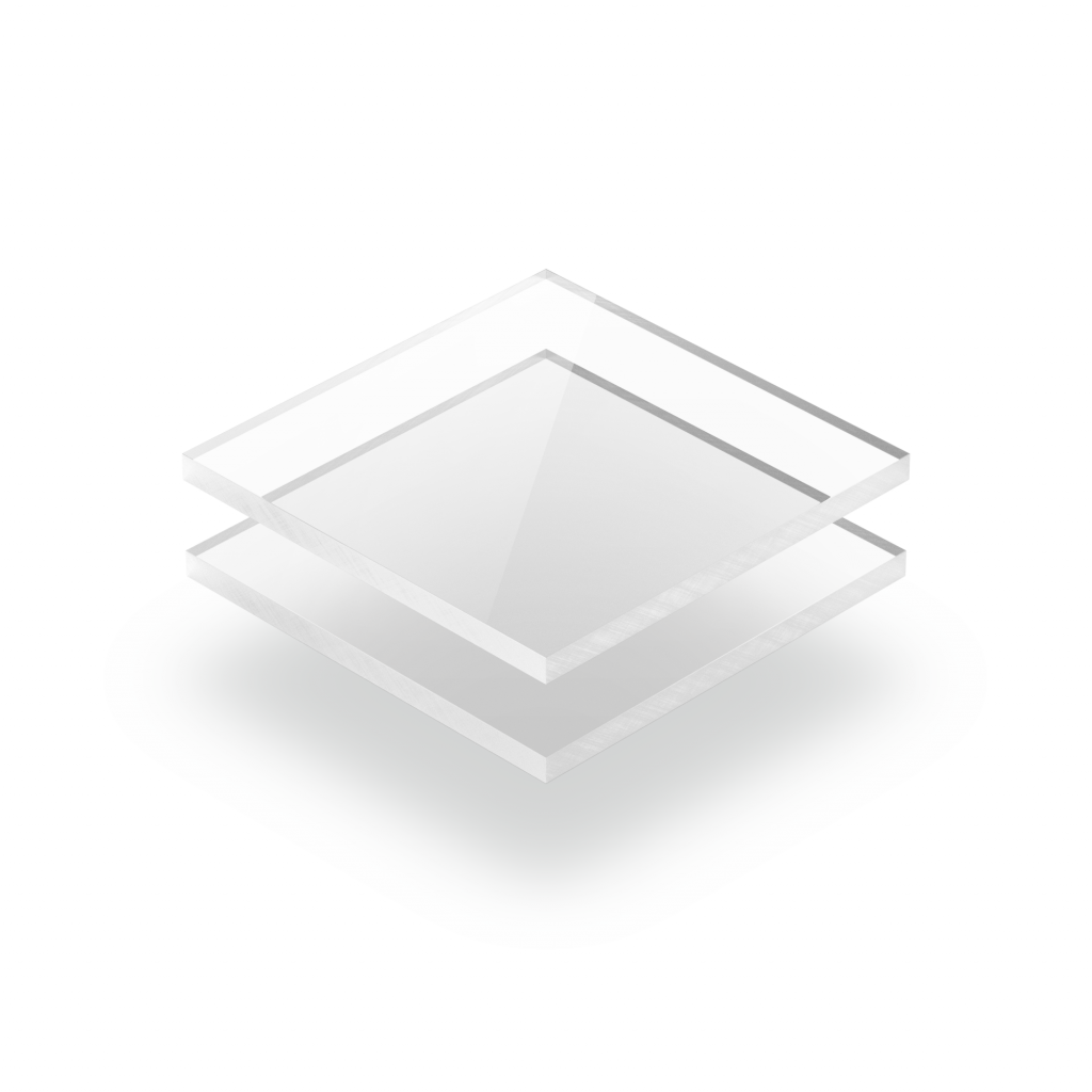 Plaque Plexiglass transparent
