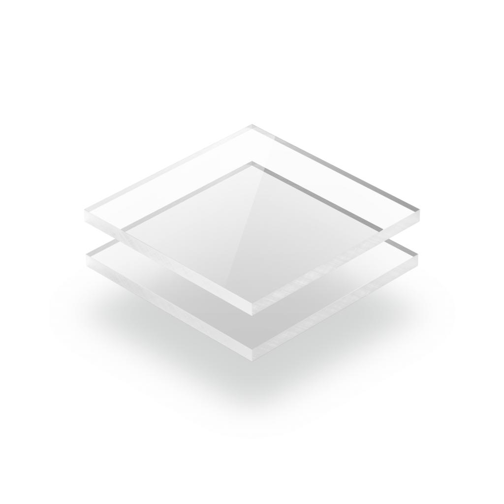 Plaque Plexiglass transparent