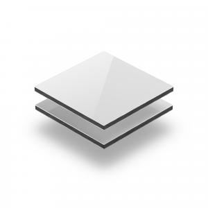 Plaque alupanel blanc