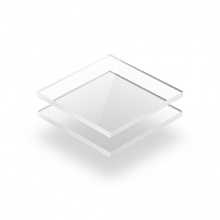 Plaque polycarbonate transparent
