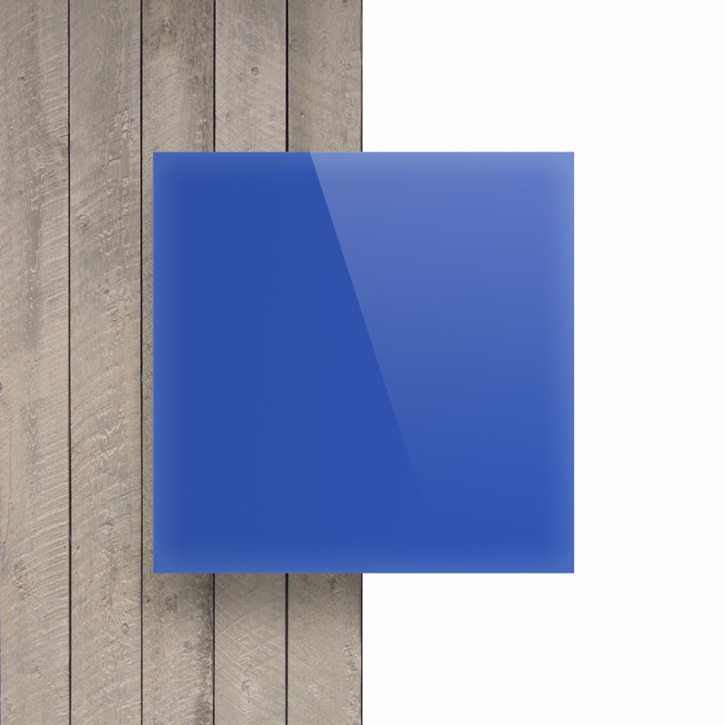 Devant Plexiglass bleu opal