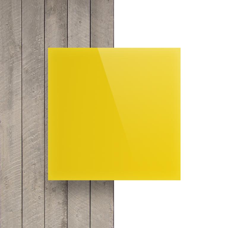 Devant Plexiglass jaune opal