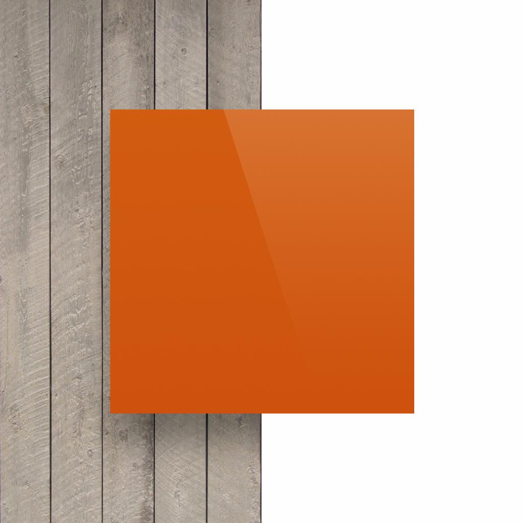 Devant plaque alupanel orange