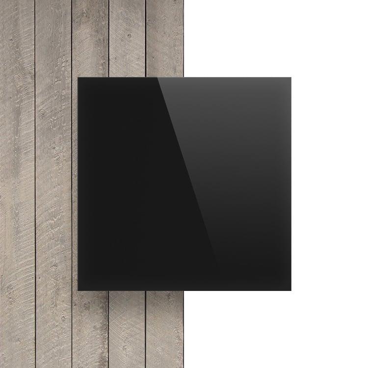 Devant plexiglass noir