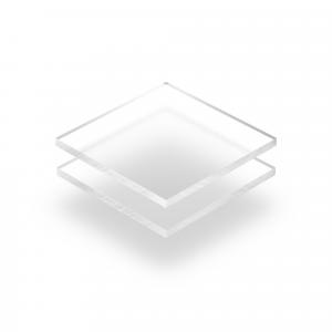 Plaque Plexiglass givre transparent