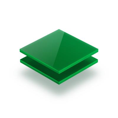 Plaque Plexiglass vert opaque