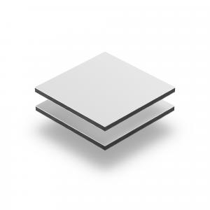 Plaque Dibond blanc