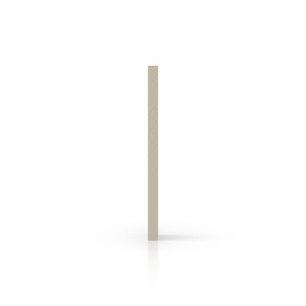 Cote plexiglass blanc creme satine