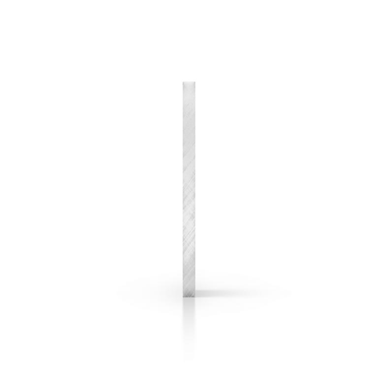 Cote plexiglass reflechissant argent