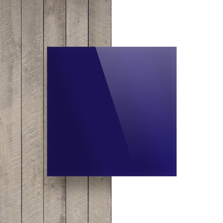 Devant Plexiglass reflechissant bleu