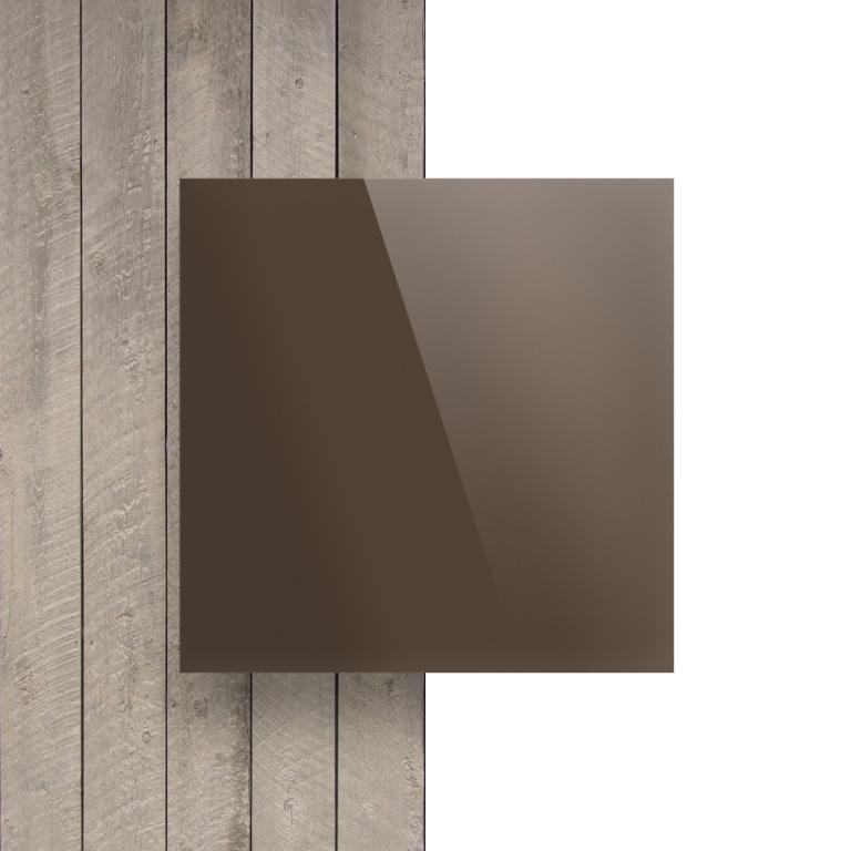 Devant Plexiglass reflechissant bronze