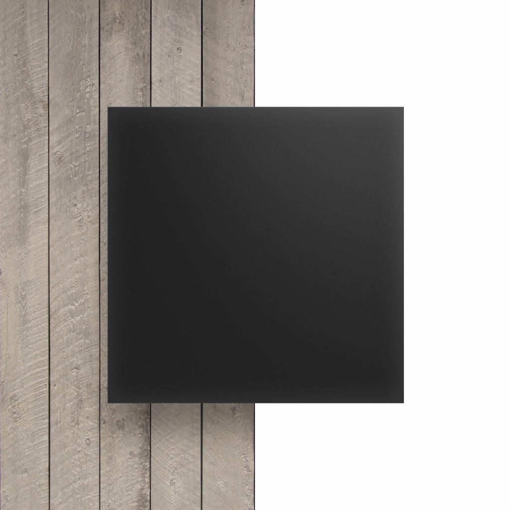 Devant plaque Plexiglass anthracite satine