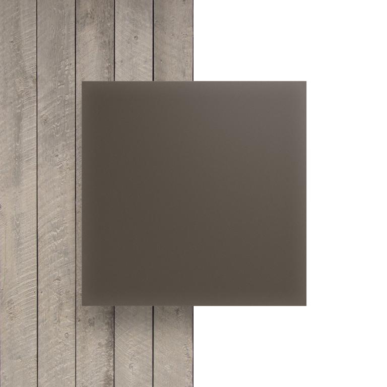 Devant plaque Plexiglass argile satine