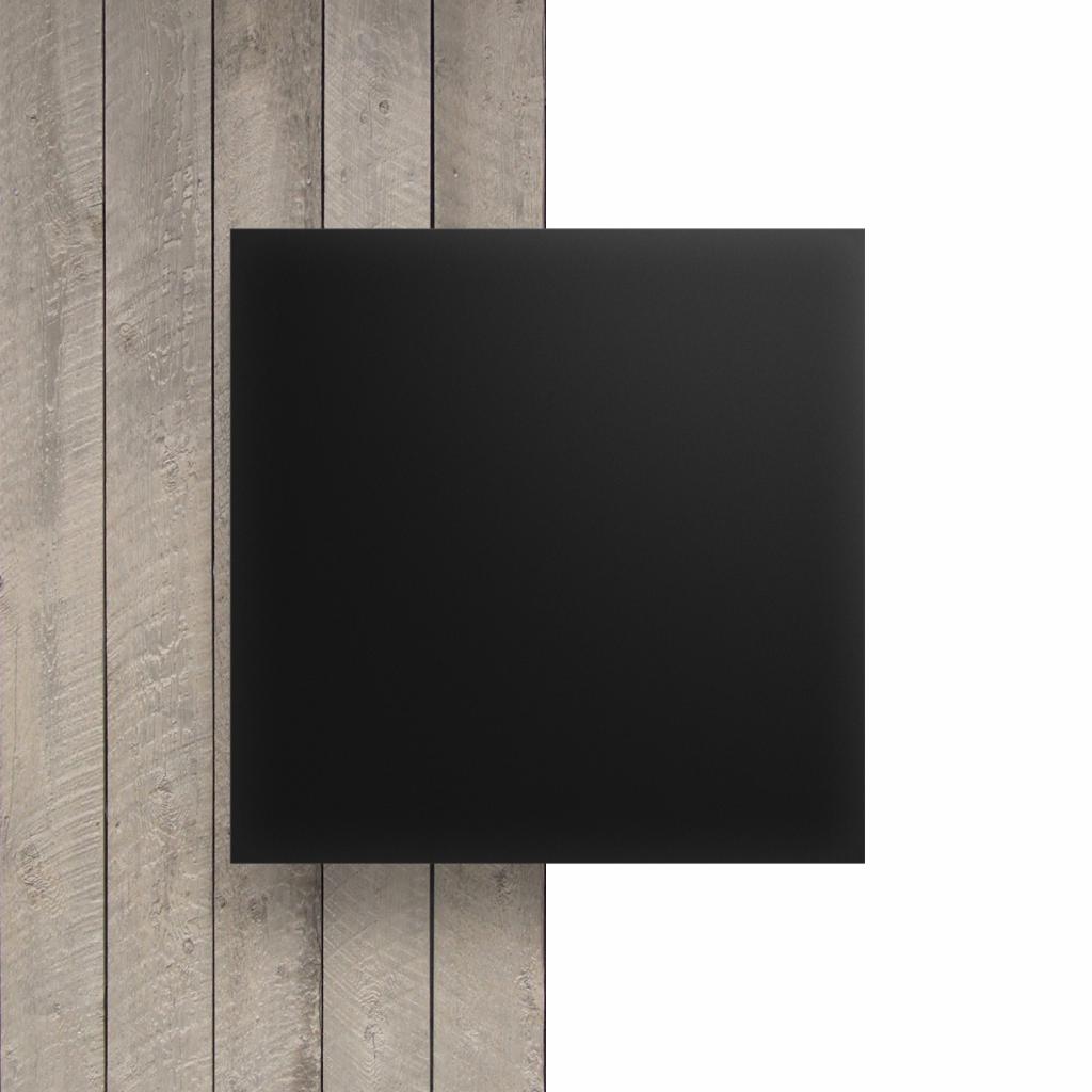 Devant plaque Plexiglass ebene satine