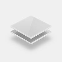 Plexiglass blanc laiteux
