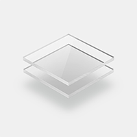 Plexiglass transparent clair