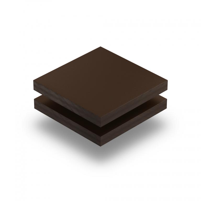 Plaque HPL brun chocolat