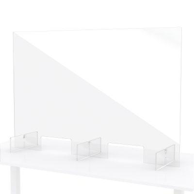 Protection en plexiglass pour comptoir 120x80