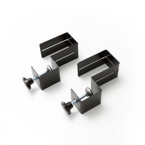 Des pinces pour feuille acrylique