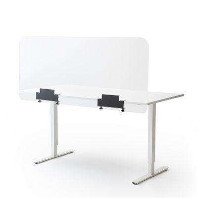 Ecran de bureau ou de table en plexiglass grand