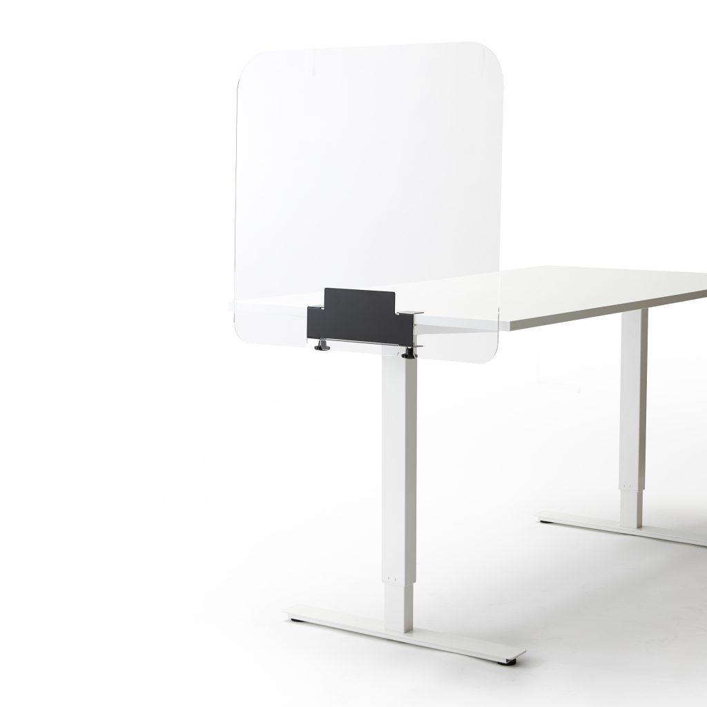 Ecran de bureau ou de table en plexiglass petit