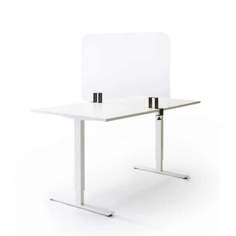 Ecran de table en feuille acrylique