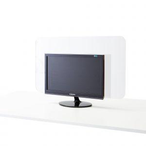 Ecran en feuille acrylique pour ordinateur