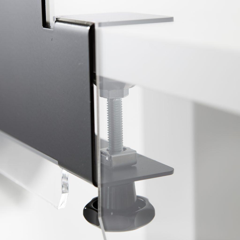 Pince de table pour feuille acrylique