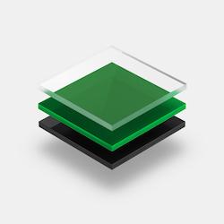 Assortiment plexiglass