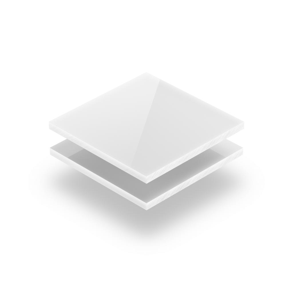 Plaque avec lettres blanc 8mm