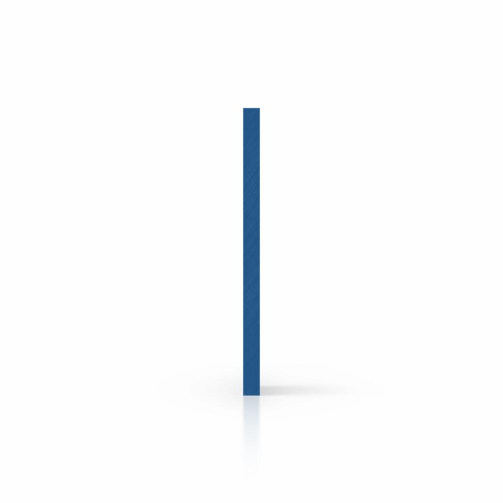 Plaque avec lettres blue côté