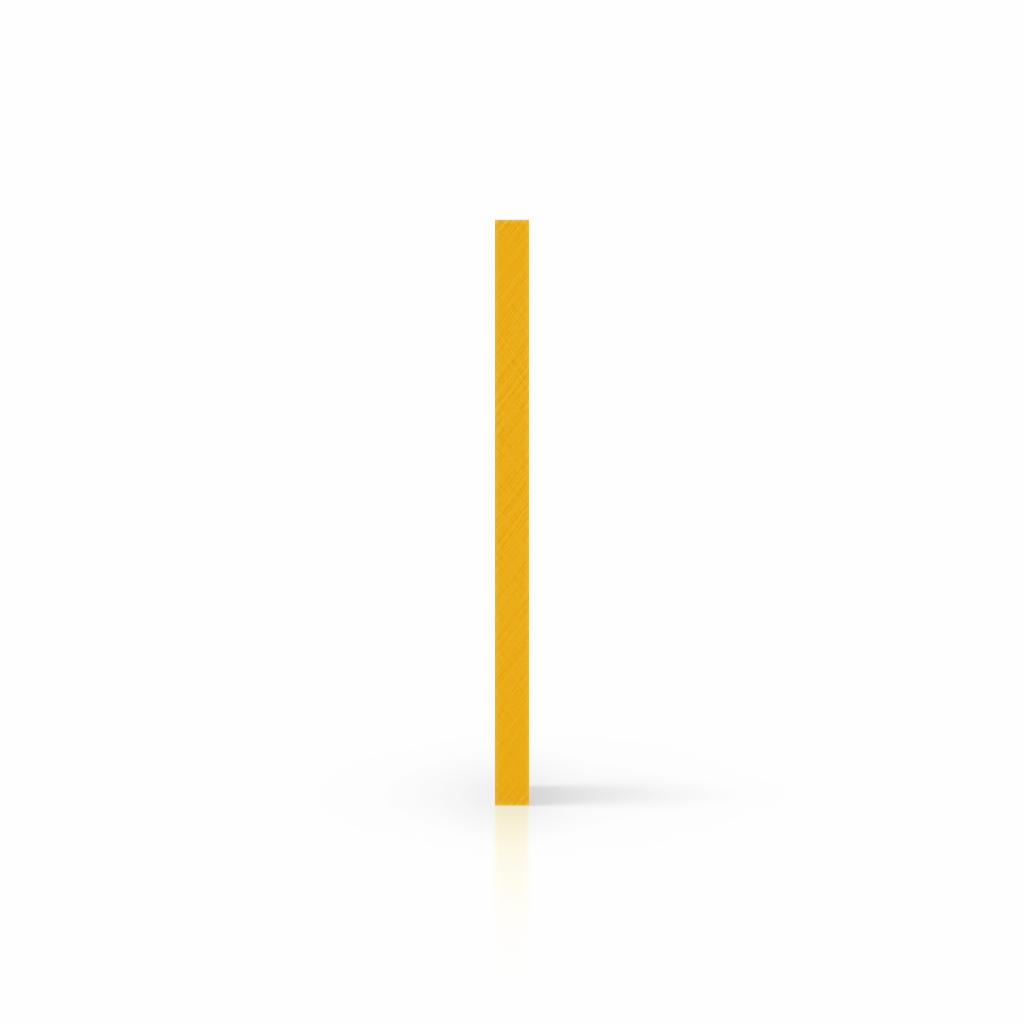 Plaque avec lettres jaune signalisation côté