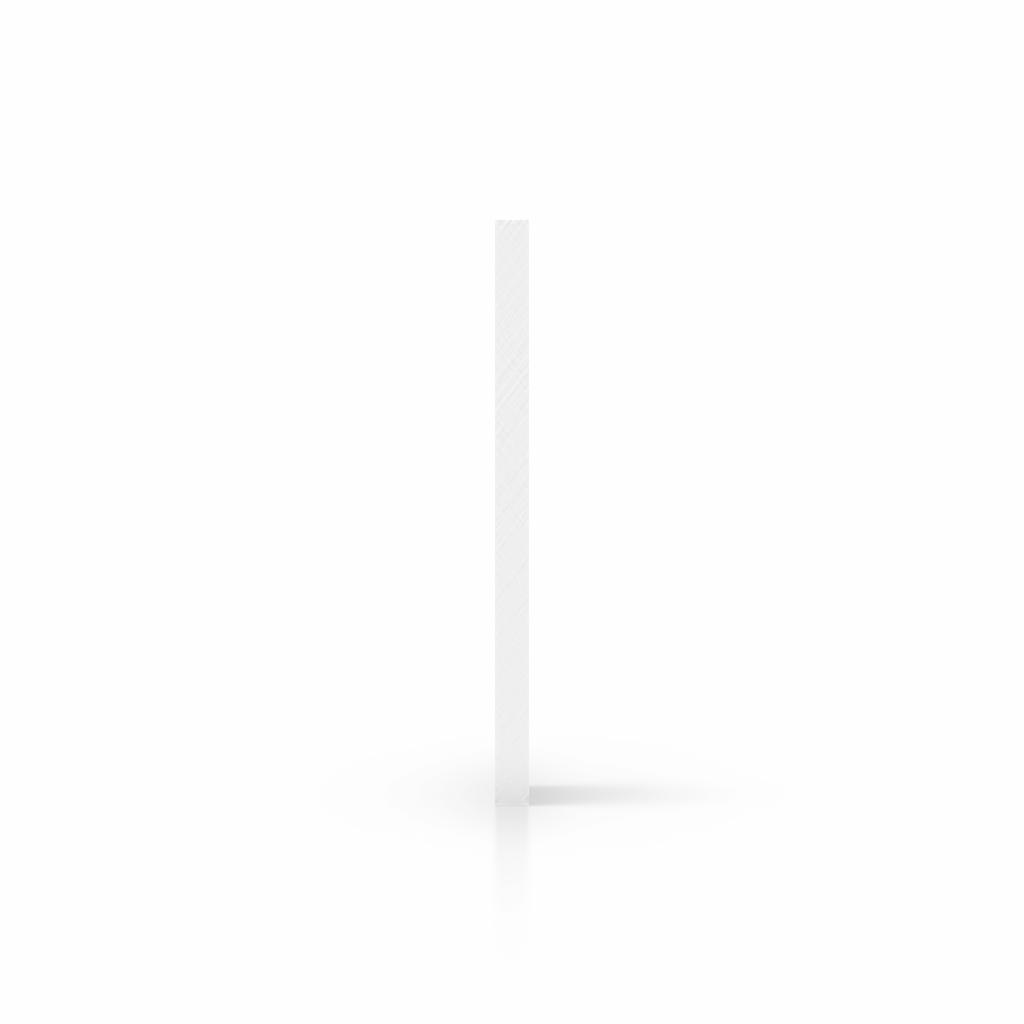 Cote plaque de lettres plexiglass weiss