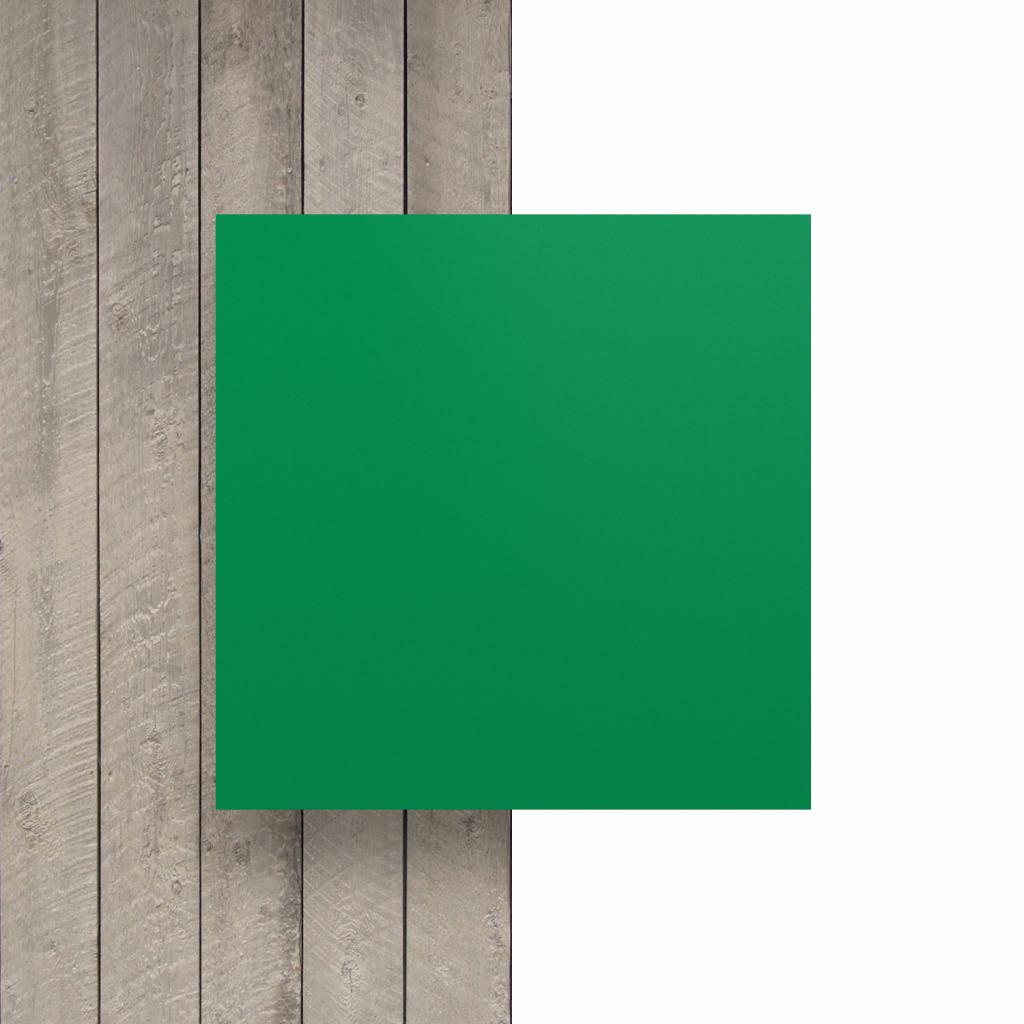 Devant plaque de lettres en plexiglass vert menthe mat