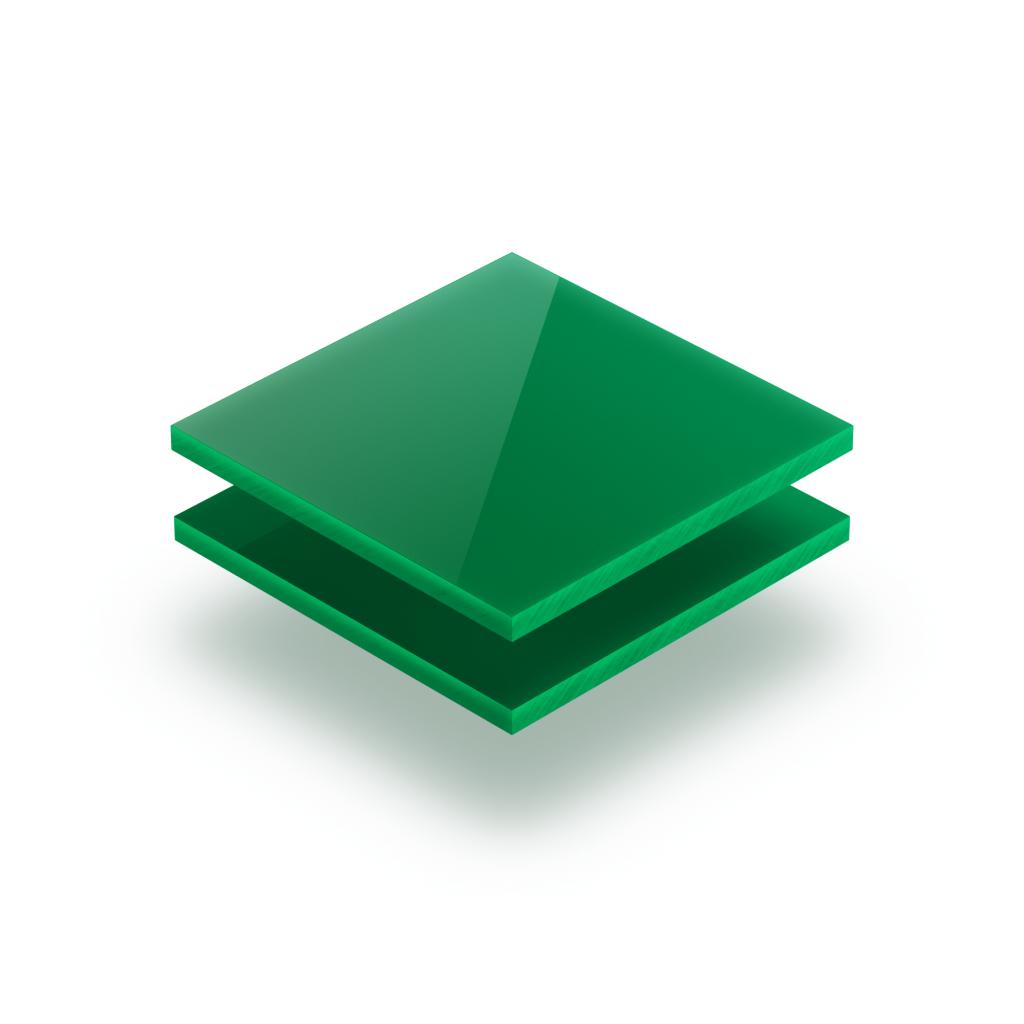 Plaque de lettres en plexiglass vert menthe brillant