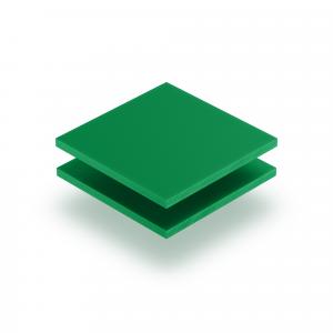 Plaque de lettres en plexiglass vert menthe mat